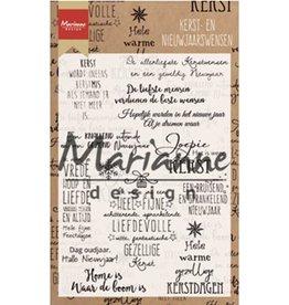 Marianne Design Marianne Design stempels Kerst- en nieuwjaarswensen  CS1008