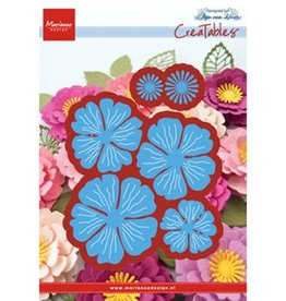Marianne Design Marianne Design Creatables Anja's beautiful flower set LR0546