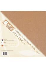 Atbelle  Kraft karton, 300 grs (20vel) 30,5 x 30,5