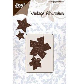 Joy Craft Joy Crafts Cutting Vintage Flourishes Snijstencil - VF - Vouw-Ster 6003/0088