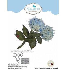 Elizabeth Craft Designs Elizabeth Craft designs dies Garden notes Hydrangea 2   1293