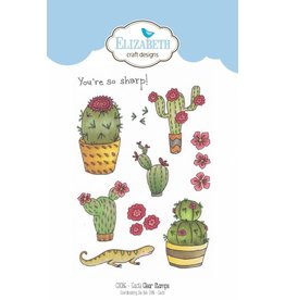 Elizabeth Craft Designs Elizabeth Craft Designs clearstamps Cacti CS086