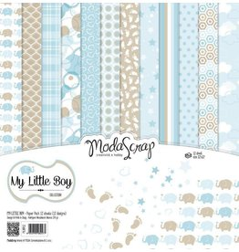 Elizabeth Craft Designs Elizabeth Craft Designs papier My Little Boy 30.5 x 30,5 (12x12)  MSC012