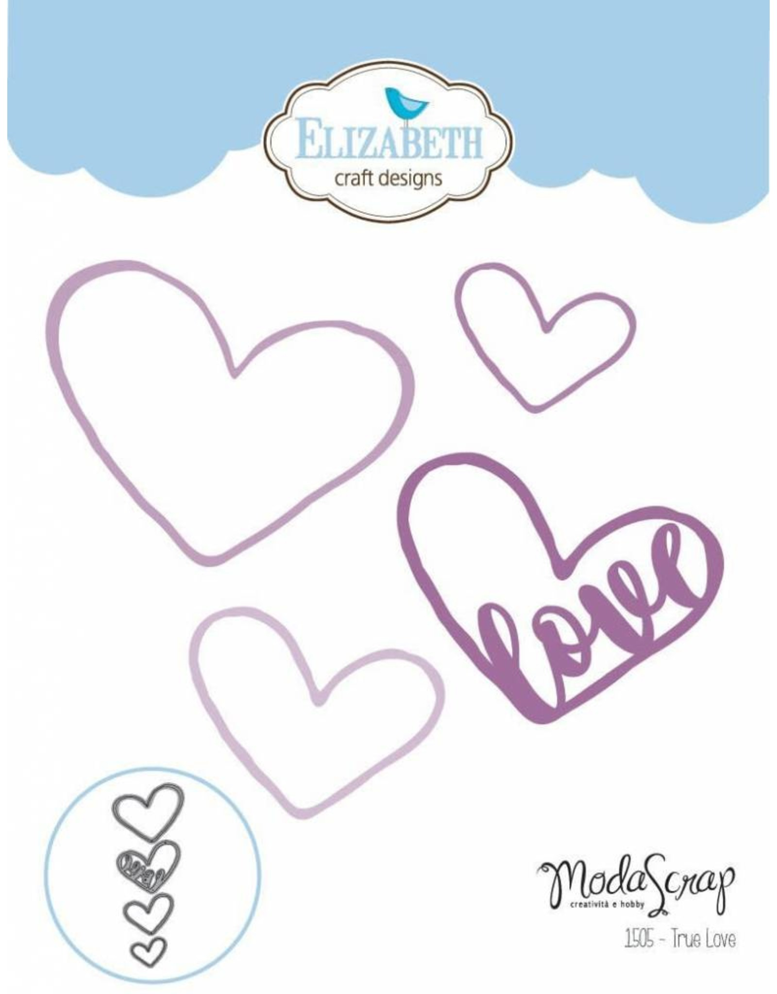 Elizabeth Craft Designs Elizabeth Craft Designs dies True Love 1505