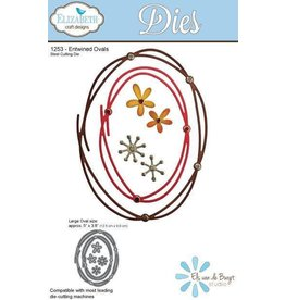 Elizabeth Craft Designs Elizabeth Craft Designs dies Entwined Ovals 1253