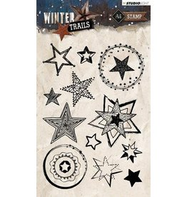 Studio Light Clear Stamp Studio Light Stamp A6 Winter Trails nr 300 STAMPWT300