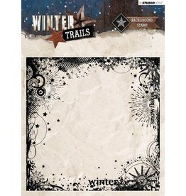 Studio Light Clear Stamp Studio Light Clearstempel 14x14 Winter Trails nr 305 STAMPWT305