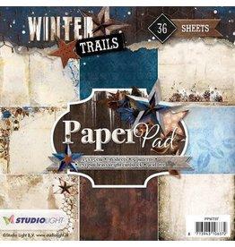 Studio Light Paper pad 36 vel Winter Trails nr 97 PPWT97