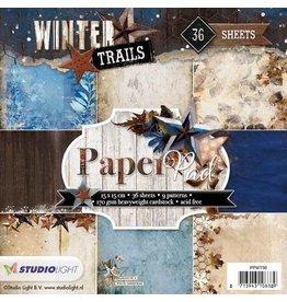 Studio Light Paper pad 36 vel Winter Trails nr 98 PPWT98