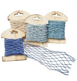 Web lint blauw