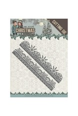 Amy Design Amy Design - Christmas Wishes - Snowflake Borders snijmal