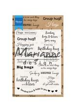 Marianne Design Marianne Design stempels Hugs UK CS1011
