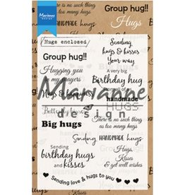 Marianne Design stempels Hugs UK CS1011