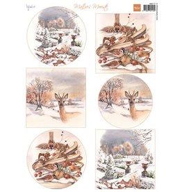 Marianne Design Marianne Design knipvel Mattie's mooiste: Winter 1MB0177