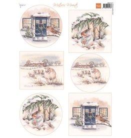 Marianne  Design knipvel Mattie's mooiste: Winter 2 MB0178