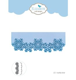 Elizabeth Crafts Dies snowflake border 1572