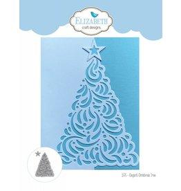 Elizabeth Crafts Dies Elegant christmas tree 1575