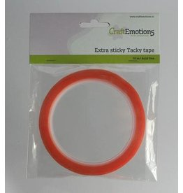 Craft Emotions CraftEmotions Extra sticky tape 3 mm 10 MT 1 RL