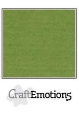 CraftEmotions linnenkarton 10 vel mosgroen 30,0x30,0cm