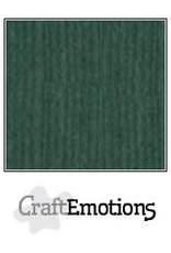 Craft Emotions CraftEmotions linnenkarton  smaragdgroen 30,0x30,0cm