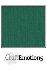 Craft Emotions CraftEmotions linnenkarton  kerstgroen 30,0x30,0cm