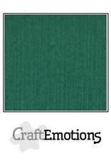 CraftEmotions linnenkarton 10 vel kerstgroen 30,0x30,0cm