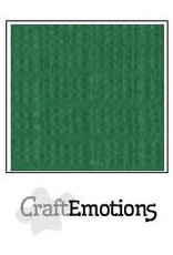 CraftEmotions linnenkarton  loofgroen 30,0x30,0cm