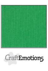 CraftEmotions linnenkarton 10 vel grasgroen 30,0x30,0cm