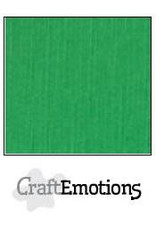 CraftEmotions linnenkarton  grasgroen 30,0x30,0cm