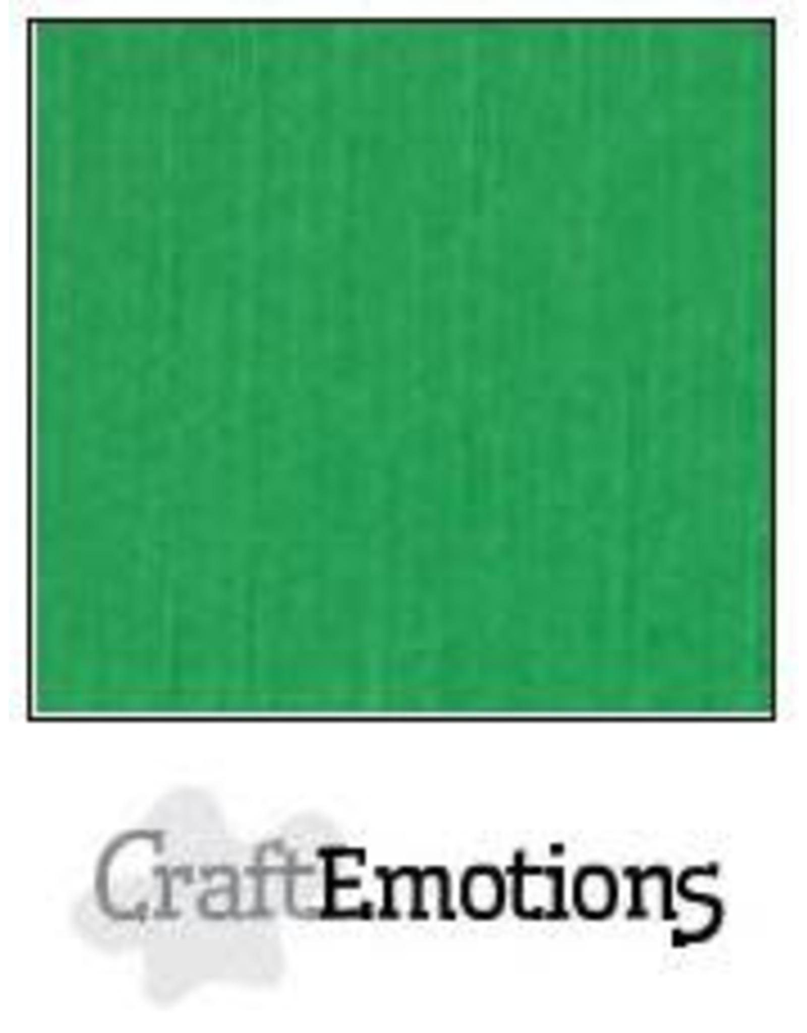 Craft Emotions CraftEmotions linnenkarton  grasgroen 30,0x30,0cm