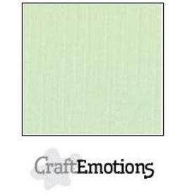 Craft Emotions CraftEmotions linnenkarton  groen 30,0x30,0cm