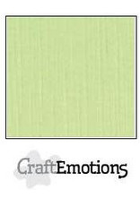 Craft Emotions CraftEmotions linnenkarton  kiwi 30,0x30,0cm