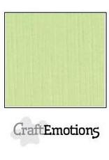 CraftEmotions linnenkarton  kiwi 30,0x30,0cm