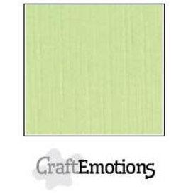 CraftEmotions linnenkarton 10 vel kiwi 30,0x30,0cm