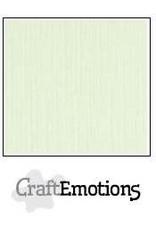 CraftEmotions linnenkarton 10 vel lichtgroen 30,0x30,0cm