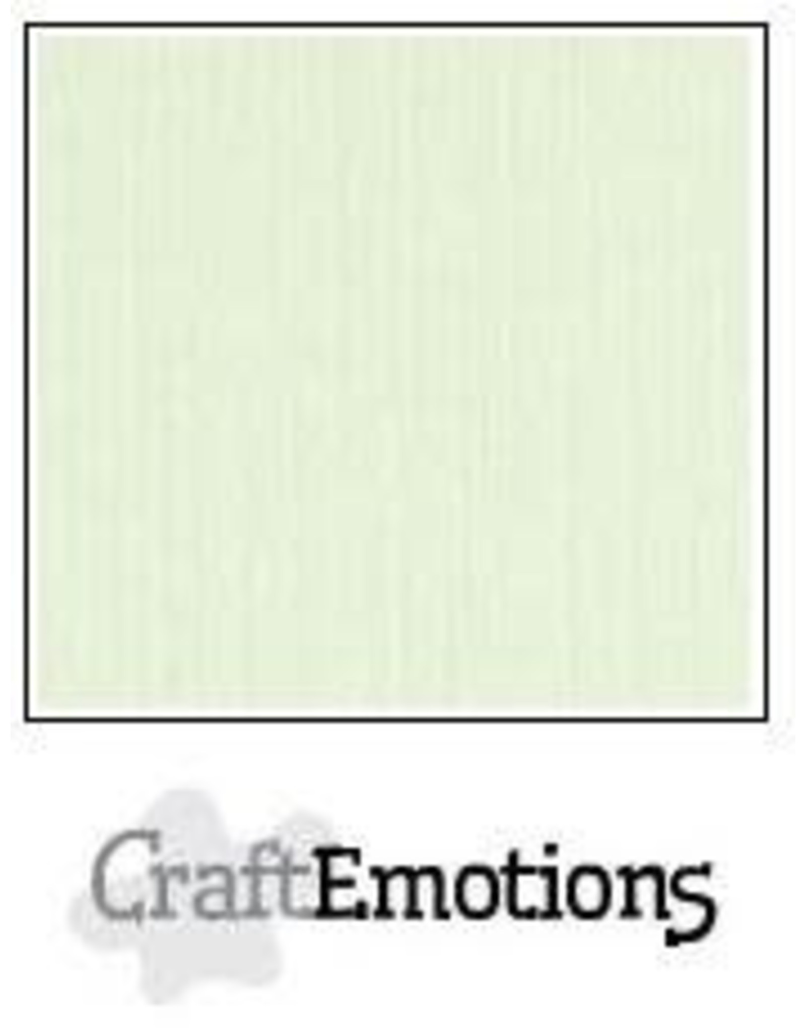 Craft Emotions CraftEmotions linnenkarton  lichtgroen 30,0x30,0cm