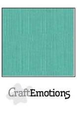 CraftEmotions linnenkarton  saliegroen pastel 30,0x30,0cm