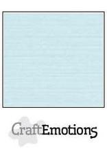 CraftEmotions linnenkarton 10 vel babyblauw 30,0x30,0cm