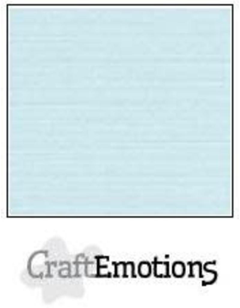 CraftEmotions linnenkarton  babyblauw 30,0x30,0cm
