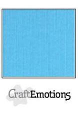CraftEmotions linnenkarton 10 vel aqua 30,0x30,0cm