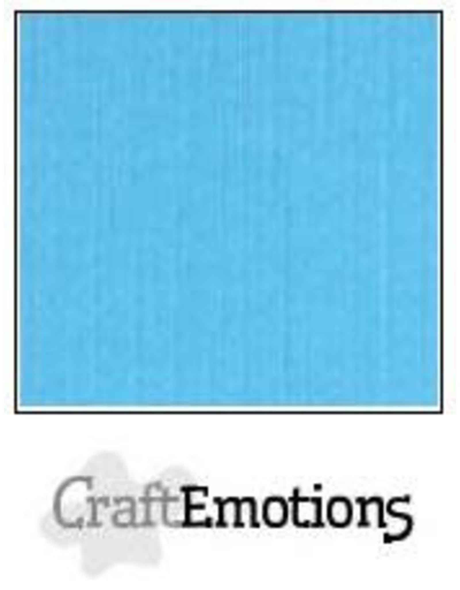 Craft Emotions CraftEmotions linnenkarton  aqua 30,0x30,0cm