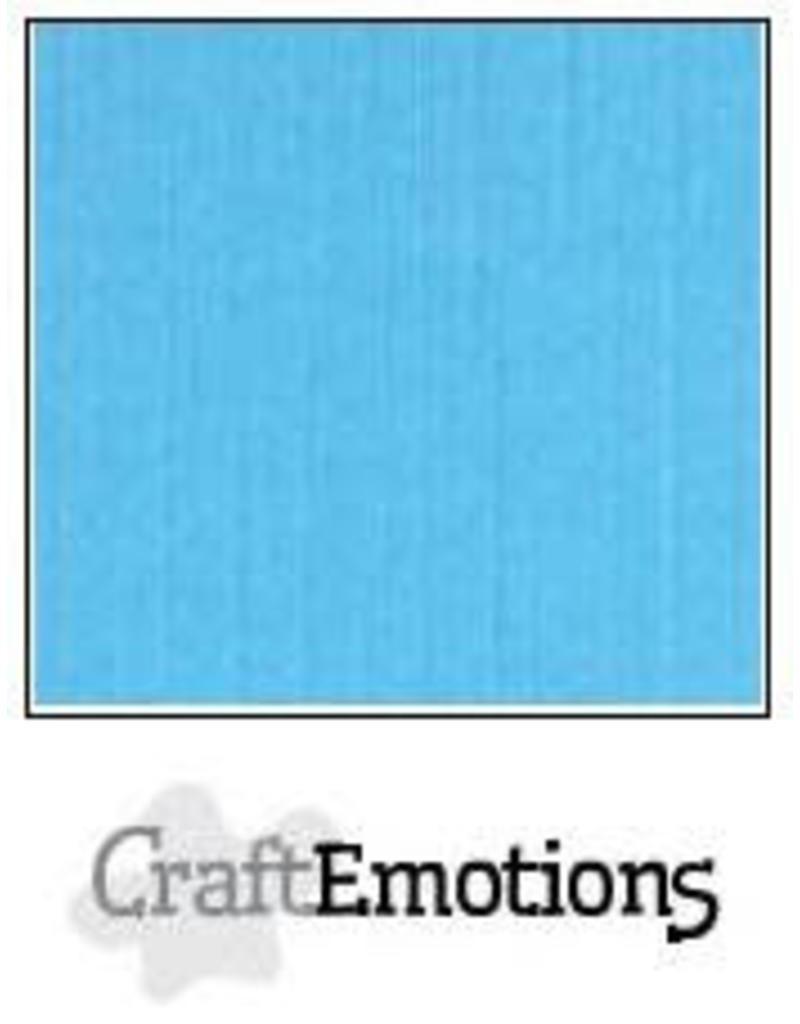 CraftEmotions linnenkarton  aqua 30,0x30,0cm