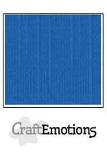 CraftEmotions linnenkarton 10 vel signaalblauw 30,0x30,0cm