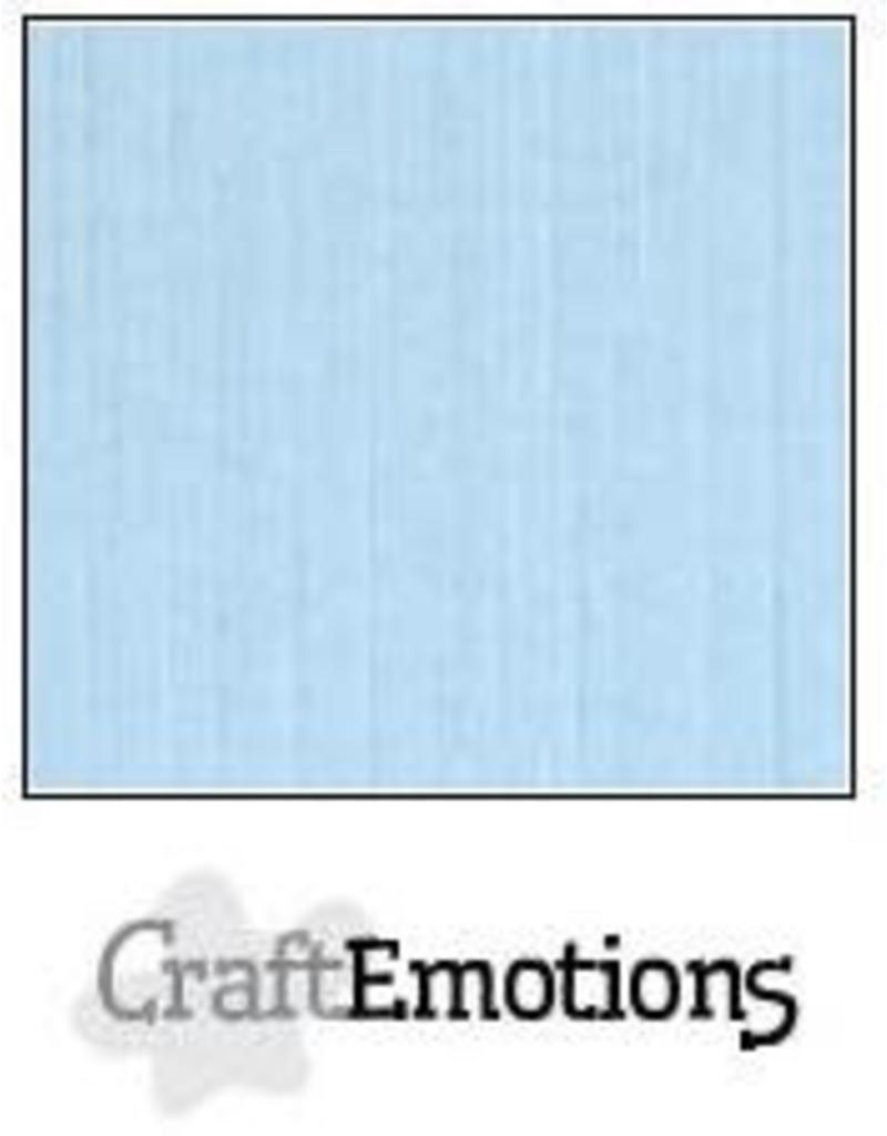Craft Emotions CraftEmotions linnenkarton azuurblauw 30,0x30,0cm