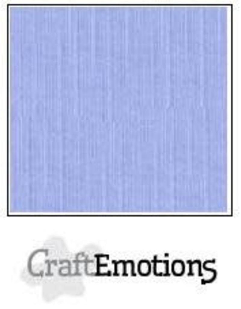 CraftEmotions linnenkarton 10 vel licht jeans 30,0x30,0cm