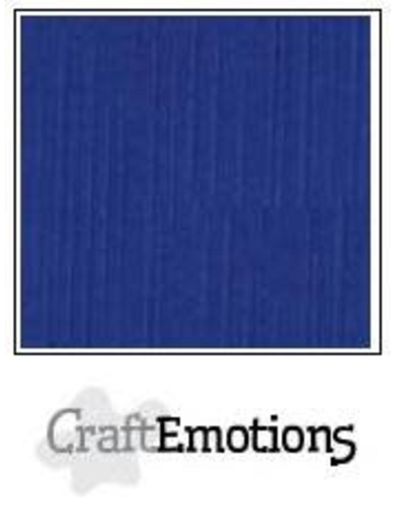 CraftEmotions linnenkarton 10 vel hemelsblauw 30,0x30,0cm