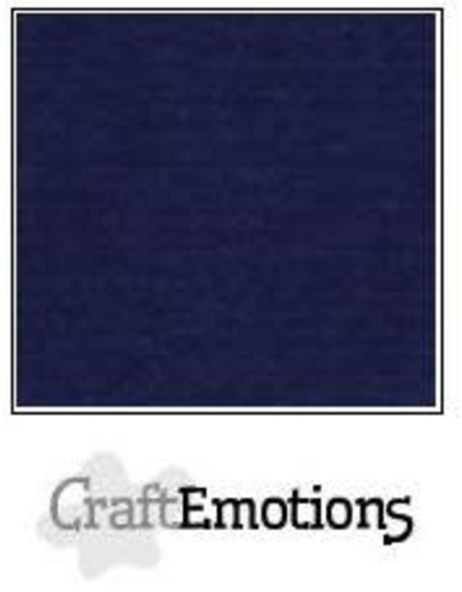 Craft Emotions CraftEmotions linnenkarton  donker blauw 30,0x30,0cm