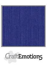 Craft Emotions CraftEmotions linnenkarton saffierblauw 30,0x30,0cm