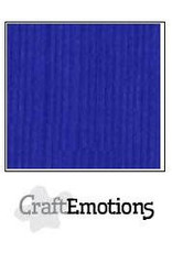 CraftEmotions linnenkarton  kobaltblauw 30,0x30,0cm