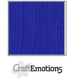 Craft Emotions CraftEmotions linnenkarton  kobaltblauw 30,0x30,0cm